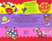 Super pop-hop 123 - 4ème de couverture - Format classique