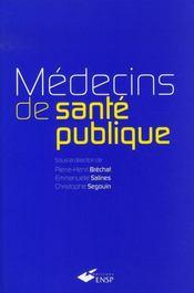 Médecins de santé publique - Intérieur - Format classique