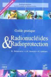 Guide pratique ; radionucléides et radioprotection (edition 2006) - Intérieur - Format classique
