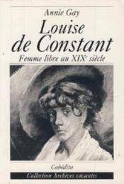 Louise De Constant - Couverture - Format classique