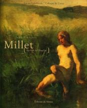 Jean-François Millet ; au-delà de l'Angélus - Couverture - Format classique