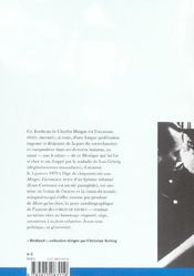 Mingus, Cuernavaca - 4ème de couverture - Format classique
