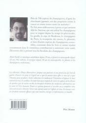 Mycothérapie ; médecine des champignons - 4ème de couverture - Format classique