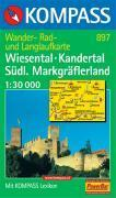 Wiesental, Kandertal Südl. Markgräflerland - Couverture - Format classique
