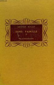 Sans Famille. Tome 2. Collection Flammarion . - Couverture - Format classique