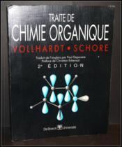 Traite De Chimie Organique - Couverture - Format classique