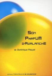 Son parfum d'avalanche - Couverture - Format classique