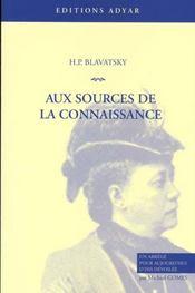 Sources De La Connaissance (Aux) - Intérieur - Format classique