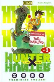 Hunter X Hunter T3 - Intérieur - Format classique