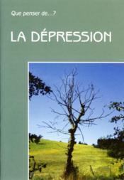La Depression - Couverture - Format classique