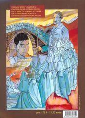 Confrerie Des Ombres (La) - 4ème de couverture - Format classique