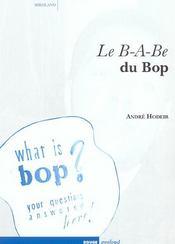 B-A-Be Du Bop (Le) - Intérieur - Format classique