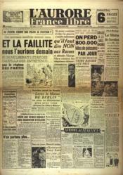 Aurore France Libre (L') N°1246 du 15/09/1948 - Couverture - Format classique