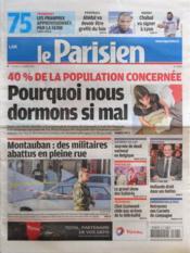 Parisien 75 (Le) N°20997 du 16/03/2012 - Couverture - Format classique