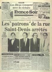 France Soir Derniere Heure N°11863 du 07/10/1982 - Couverture - Format classique