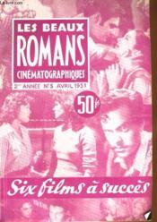 Les Beaux Romans Cinematographiques - 2eme Annee N°3 - Couverture - Format classique