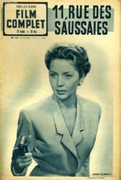 Tous Les Jeudis - Film Complet N° 262 - 11, Rue Des Saussaies - Couverture - Format classique
