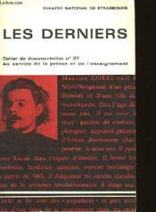 Les Derniers - Cahiers De Documentation N°37 - Theatre International De Starsbourg - Couverture - Format classique