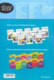 Dossiers Transversaux Sujets Transdisciplinaires De Type Ecn Et Annales Corriges Et Commentes - 4ème de couverture - Format classique