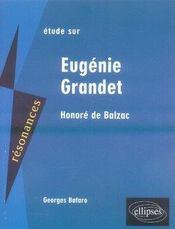 Balzac, eugénie grandet - Intérieur - Format classique