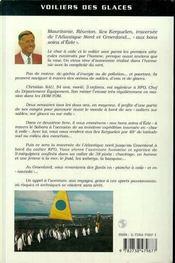 Voiliers Des Glaces ; Aux Bons Soins D'Eole - 4ème de couverture - Format classique