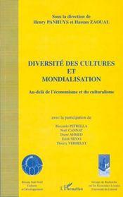 Diversite Des Cultures Et Mondialisation ; Au-Dela De L'Economisme Et Du Culturalisme - Intérieur - Format classique