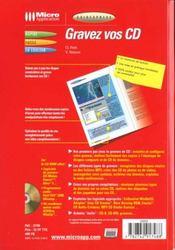 Guidexpress gravez vos cd - 4ème de couverture - Format classique