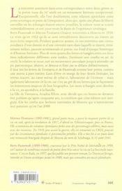 Correspondances 1922-1936 - 4ème de couverture - Format classique