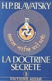La doctrine secrète t.3 - Couverture - Format classique