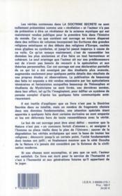 La doctrine secrète t.3 - 4ème de couverture - Format classique