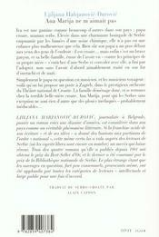 Ana Marija Ne M'Aimait Pas - 4ème de couverture - Format classique