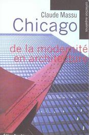 Chicago - De La Modernite En Architecture - Intérieur - Format classique