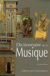 Dictionnaire de la musique - Intérieur - Format classique