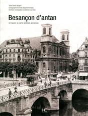 Besançon d'antan - Couverture - Format classique