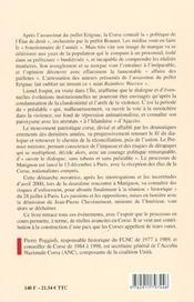 Affaire Bonnet A Matignon (De L') - 4ème de couverture - Format classique