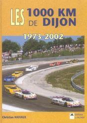 Les 1000 km de dijon, 1973-2002 - Intérieur - Format classique