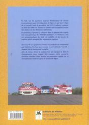 Les 1000 km de dijon, 1973-2002 - 4ème de couverture - Format classique