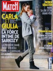 Paris Match N°3278 du 15/03/2012 - Couverture - Format classique