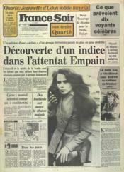 France Soir Toute Derniere Quarte N°11933 du 29/12/1982 - Couverture - Format classique