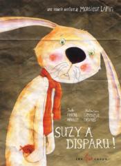 Suzy a disparu - Couverture - Format classique