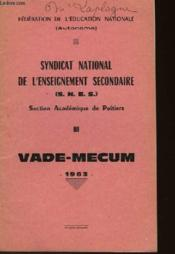 Vade-Mecum - Couverture - Format classique