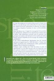 Gestion Des Ressources Humaines Principes Et Points Cles - 4ème de couverture - Format classique