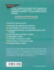 Étude sur poèmes saturniens (2e édition) - 4ème de couverture - Format classique
