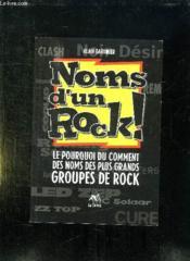 Noms D'Un Rock - Couverture - Format classique