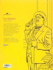 Agatha Christie t.13 ; les quatre - 4ème de couverture - Format classique
