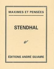 Maximes et pensées - Couverture - Format classique