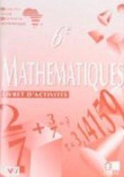 Mathematiques Ciam 6e / Livret D'Activites - Couverture - Format classique