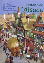 Histoire de l'Alsace - Couverture - Format classique