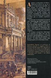 La Lyre D'Amphion. De Thebes A La Havane, Pour Une Poetique Sans Fron Tieres - 4ème de couverture - Format classique