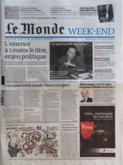 Monde (Le) N°20888 du 17/03/2012 - Couverture - Format classique